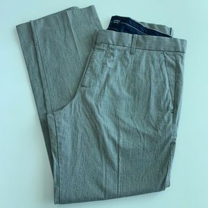 GAP grey khaki pants 36x30 slim fit
